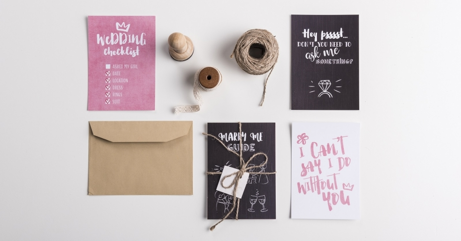Compagne Wedding Hint Cards