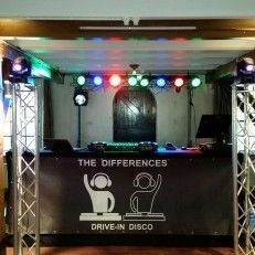 Bruiloft-muziek The Differences drive-in disco