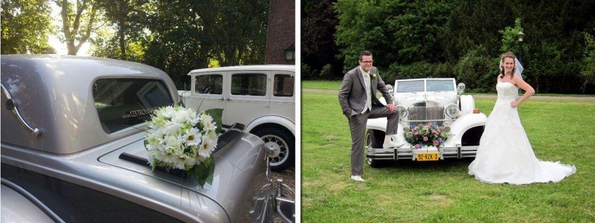 Trouwauto versiering zelf maken ur12 for Bruiloft versiering zelf maken