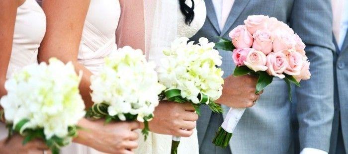 Betekenis van bloemen in het bruidsboeket