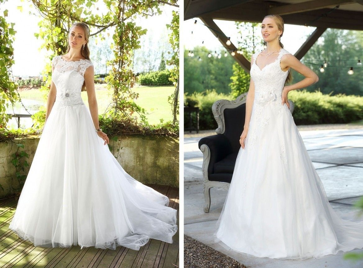 Inkoop Bruidsjurken.Trouwen In Een Jurk Van Affinity Bridal